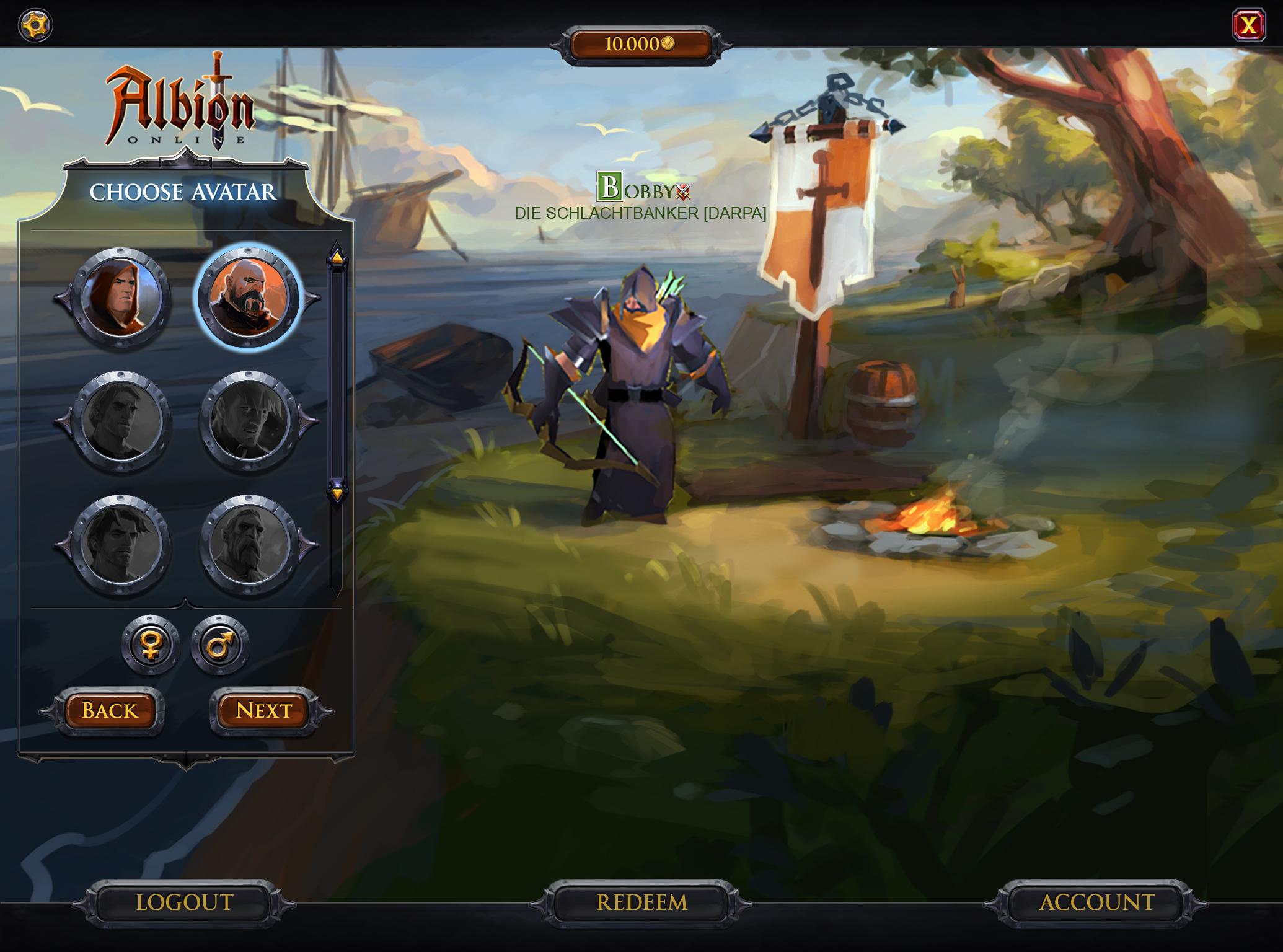 El Mmorpg De Fantasía De Sandbox Albion Online