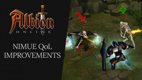 Albion Online Dev Talk - Nimue Quality-of-Life Improvements